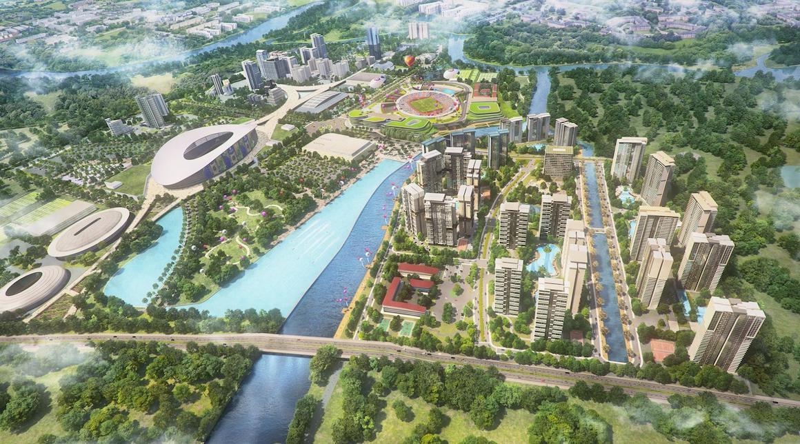 Quy hoạch khu dân cư Bắc Rạch Chiếc liền kề dự án căn hộ chung cư D'lusso Emerald